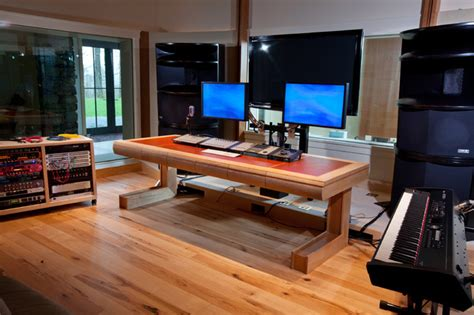 professional recording studio desk modern professional recording studio vertical home garden
