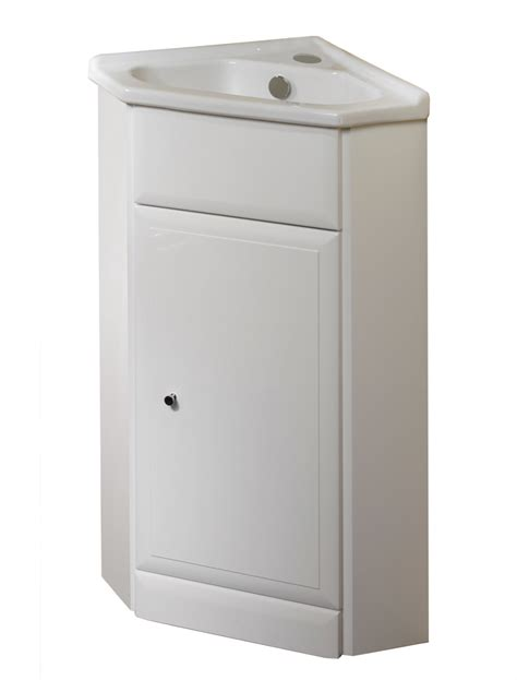 bathroom sink corner unit corner bathroom cabinet vanity and sink unit white 57cm