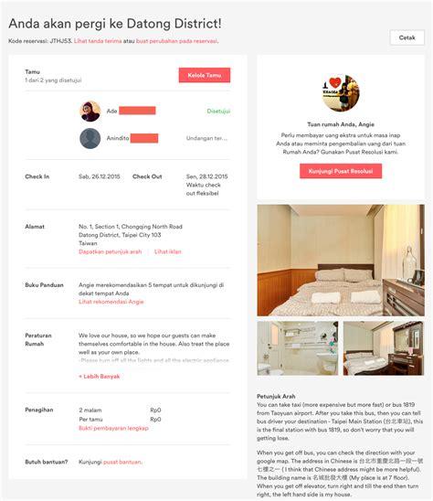 airbnb pembayaran memesan penginapan airbnb di taipei traveling precils