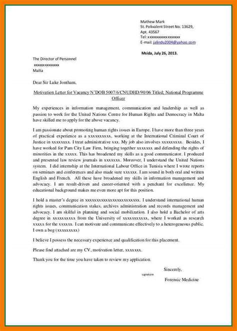 best bursary application letter 7 best motivational letter for application mailroom