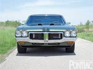 1970 pontiac lemans sport front view
