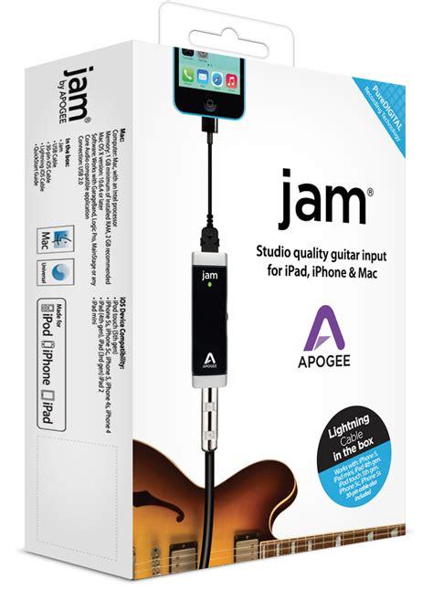 jam guitar interface for mac apogee electronics