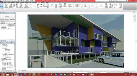 tutorial revit architecture 2012 autodesk revit architecture how to make a render youtube