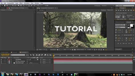 tutorial adobe after effects cs6 pdf 2d motion tracking tutorial adobe after effects cs6