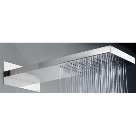 soffioni doccia mariani soffione doccia a muro in acciaio lucido 1 getto