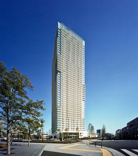 harumi high rise apartments in tokyo detail magazine of architecture construction details