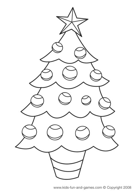 christmas coloring pages games christmas tree coloring