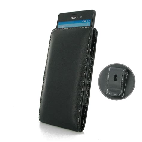 Sony Pouch Xperia M 1 sony xperia m4 aqua pouch with belt clip pdair flip wallet