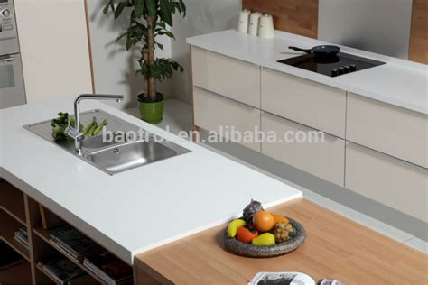Corian Top Material 2014 New Artificial Marble Molded Sink Countertop Buy