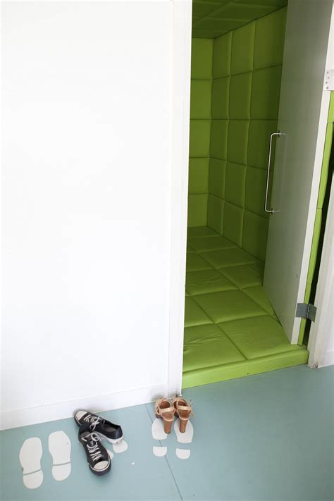 padded room shoes inside the world s most futuristic offices daily mail