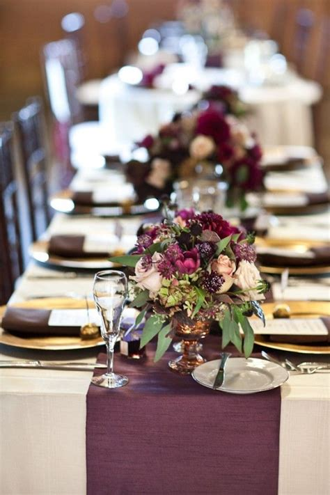 Plum Decor by Best 20 Plum Wedding Decor Ideas On Purple