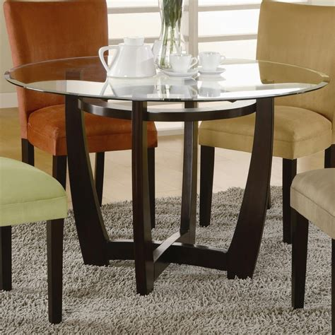 Glass Top Kitchen Table by Glass Top Kitchen Table Dining Table Glass Top Brown