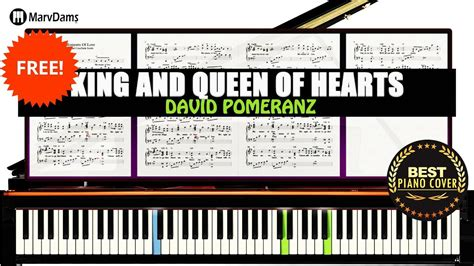 tutorial piano queen king queen of hearts piano tutorial sheet music guide
