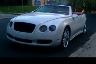 Replica Bentley For Sale Chrysler Based Bentley Replica Is A Car For Posers