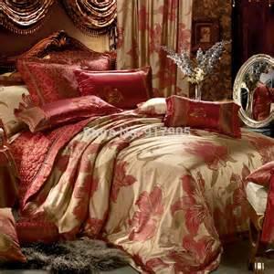 home textile modern royal gold silk sheet set luxury queen