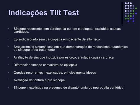 tilt test positivo tilt test