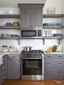shelves above kitchen cabinets open shelves microwaves and base cabinets on pinterest