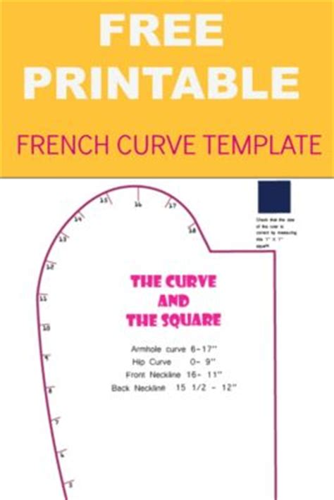 free printable french curve template on the cutting