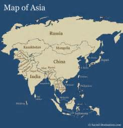 Where Is Asia On The Map by Simple Asia Map Images Amp Pictures Becuo