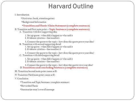 essay format harvard essay format transition