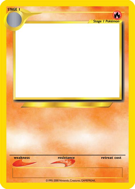 Blank Card Template Transparent by Tcg Blanks Neo Jumbo Stage 1 By Icycatelf On