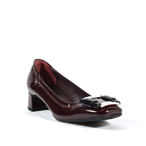 prada shoes for burgundy patent leather 3i4605 prw58