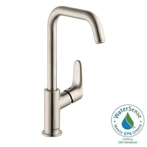 hansgrohe metro e high arc kitchen faucet hansgrohe focus e 240 single 1 handle high arc