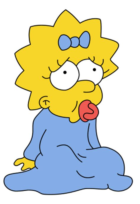 imagenes sad simpsons sad maggie maggie simpson photo 657645 fanpop