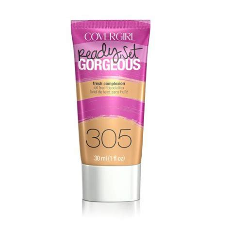 Foundation Covergirl covergirl ready set gorgeous free foundation reviews