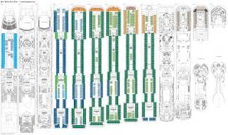 msc divina floor plan plan pianolab