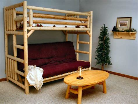 Bunk Bed With Desk And Futon Chair Bunk Beds Futon Bunk Bed With Desk Furniture White