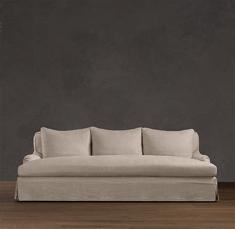 restoration hardware daybed sofa belgian roll arm slipcovered daybed sofa oropendolaperu org