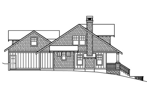 bungalow floor plan with elevation craftsman house plans carrington 30 360 associated designs