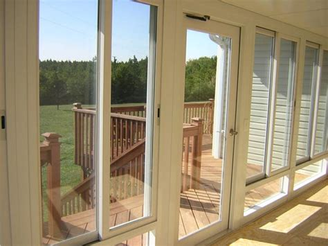 Sunroom Glass Panels Sunrooms By S Tek Side Sliding Glass Panels Side Sliders
