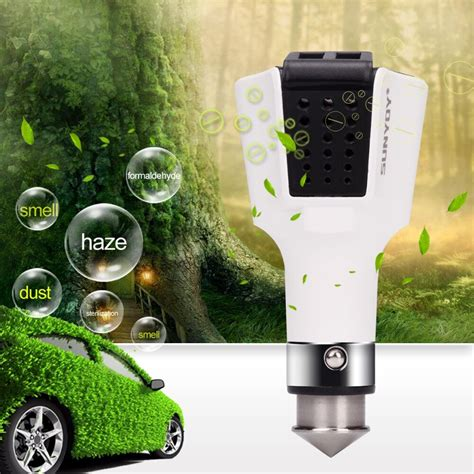 car air purifier chargerwith dual car quick