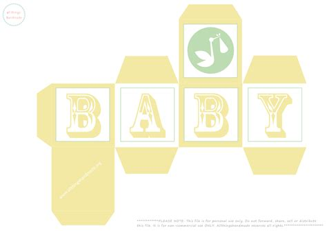 free printable favour box templates 7 best images of printable baby boxes free printable owl