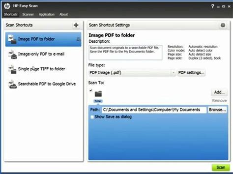 scan program heavy duty scanner for scanning all document types