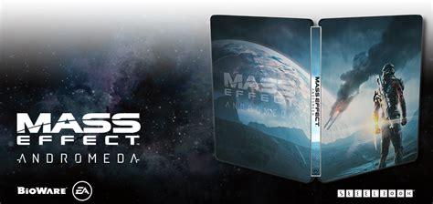mass effect initiation mass effect andromeda books read more about the mass effect andromeda steelbook edition
