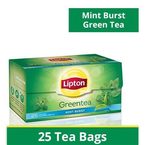 Teh Lipton Green Tea lipton green tea bags clear mint