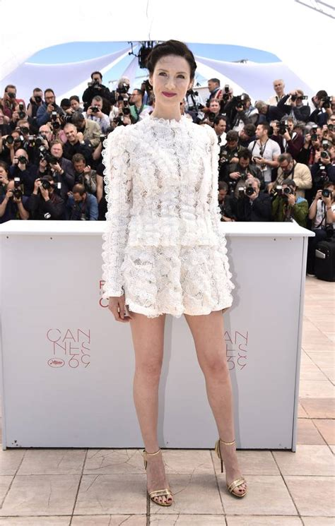 Golden Globe Red Carpet Fashion by I Was The Whitest On The Stage Caitriona Balfe