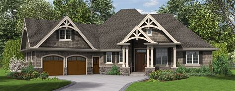 L Shaped House Plans by The Ripley Single Story Craftsman House Plan With Tons Of