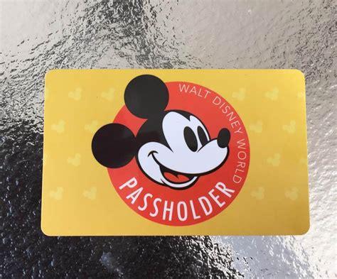 disney world gold pass photos a look at the new disney world annual pass card