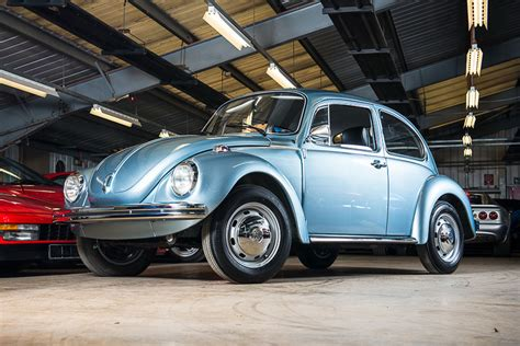 volkswagen bug wheels 1974 vw bug with just 90km on the clock discovered