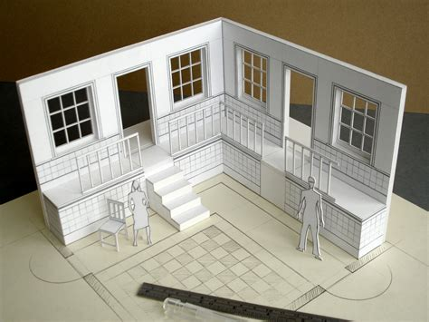 3d home design kit white card model