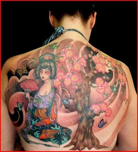 tattoo back half 60 pretty cherry blossom tattoos for back