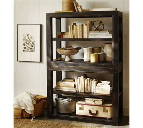 dawson bookcase pottery barn