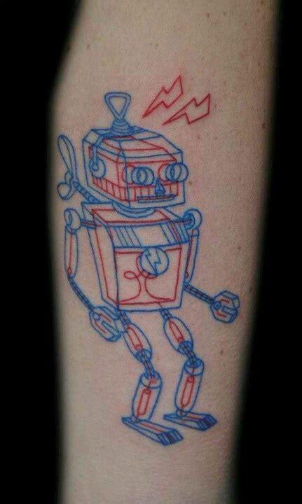tattoo 3d robot 3d robot tattoo robotronics pinterest