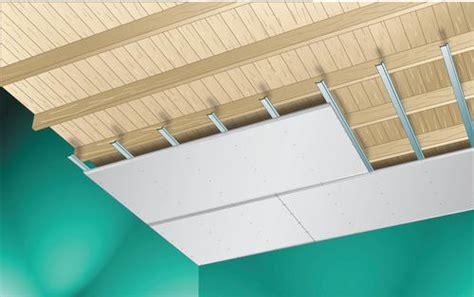 plafond sur profil 233 s 224 ressort gyproc belgium