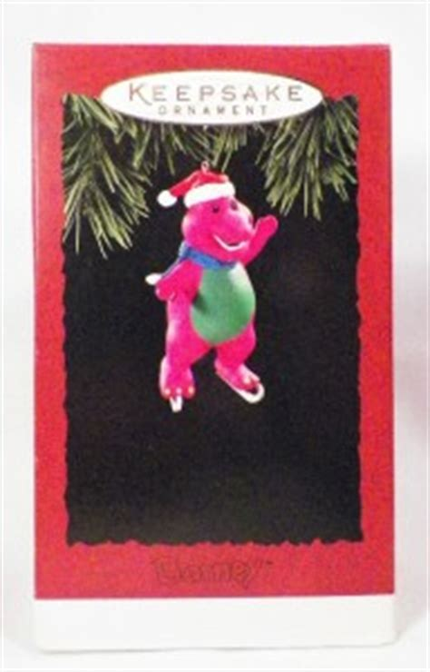 1994 barney magic hallmark ornaments barney ornament hallmark 1994 in ob dinosaur qx5966 condition ebay