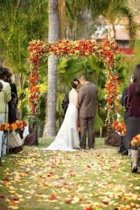 Wedding Arches On A Budget 36 Awesome Outdoor D 233 Cor Fall Wedding Ideas Weddingomania